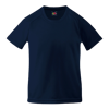 Kids Performance T-Shirt in deep-navy