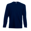 Long Sleeve Value T-Shirt in deep-navy