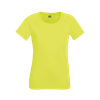 Lady Fit Performance T-Shirt in bright-yellow
