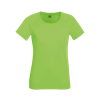 Lady Fit Performance T-Shirt in lime