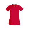 Lady Fit Performance T-Shirt in red