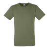 Fitted Value T-Shirt in classic-olive