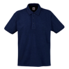Heavy Pique Polo Shirt in deep-navy