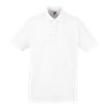 Heavy Pique Polo Shirt in white