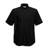 Short Sleeve Oxford Shirt in black