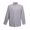Long Sleeve Oxford Shirt in oxford-grey