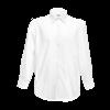 Long Sleeve Poplin Shirt in white