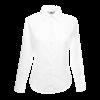 Lady Fit Long Sleeve Poplin Shirt in white