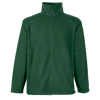 Outdoor Fleece Jacket in bottle-green