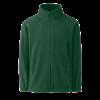 Kids Outdoor Fleece Jacket in bottle-green
