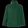 Zip Neck Outdoor Fleece in bottle-green