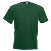 Value T-Shirt in bottle-green