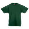 Kids Value T-Shirt in bottle-green