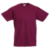 Kids Value T-Shirt in burgundy