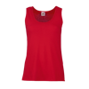 Lady Fit Value Vest in red