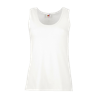 Lady Fit Value Vest in white
