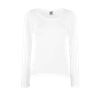 Lady Fit Value Long Sleeve T-Shirt in white
