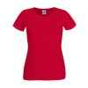 Lady Fit T-Shirt in red