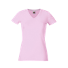 Lady Fit V Neck T-Shirt in light-pink