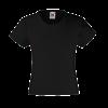 Girls Value T-Shirt in black