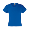 Girls Value T-Shirt in royal-blue