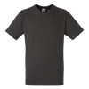 V Neck Value T-Shirt in charcoal