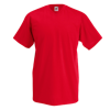 V Neck Value T-Shirt in red