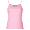 Lady Fit Rib Strap Vest in light-pink