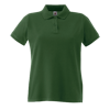 Lady Fit Premium Pique Polo Shirt in bottle-green
