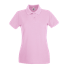 Lady Fit Premium Pique Polo Shirt in light-pink