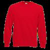 Raglan Sweatshirt in red