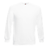 Raglan Sweatshirt in white