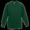 Kids Raglan Sweatshirt in bottle-green