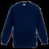 Kids Raglan Sweatshirt in deep-navy