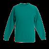 Kids Raglan Sweatshirt in emerald
