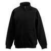 Kids Sweat Jacket in black