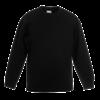 Kids Drop Shoulder Sweatshirt in black