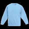 Kids Drop Shoulder Sweatshirt in sky-blue