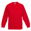 Kids Premium Raglan Sweatshirt in red