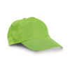 CHILKA. Cap for children in lime-green