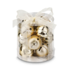 ARCALIS. Christmas decorations jingle bells in gold