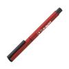 Flute Roller Metal Pens in red