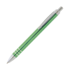 Trio Metal Pens in green
