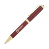 Conran Gold Metal Pens in burgundy-and-gold