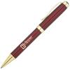 Conran Gold Metal Pens in burgundy
