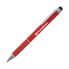 Hl Soft Stylus Metal Pens in red