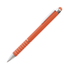 Hl Tropical Soft Stylus Metal Pens in orange