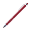 Hl Tropical Soft Stylus Metal Pens in red