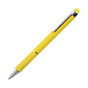 Hl Tropical Soft Stylus Metal Pens in yellow