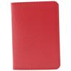 Card Holder Twelve in red